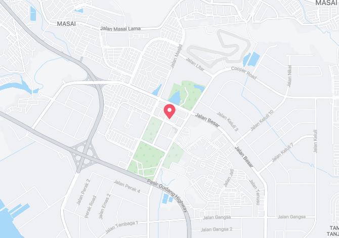 Denah Peta Alamat Taman SEDC Pasir Gudang Johor