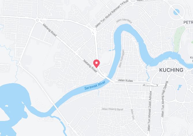 Denah Peta Alamat Jalan Medang Kuching Sarawak