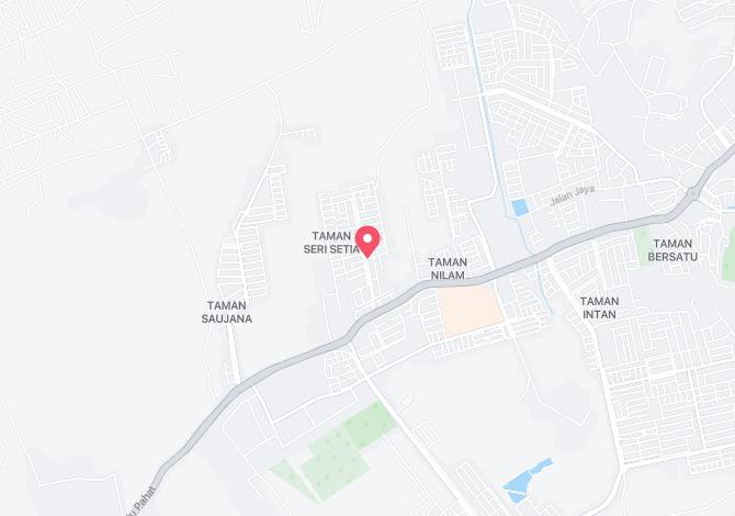 Denah Peta Alamat Taman Desa Kluang Johor