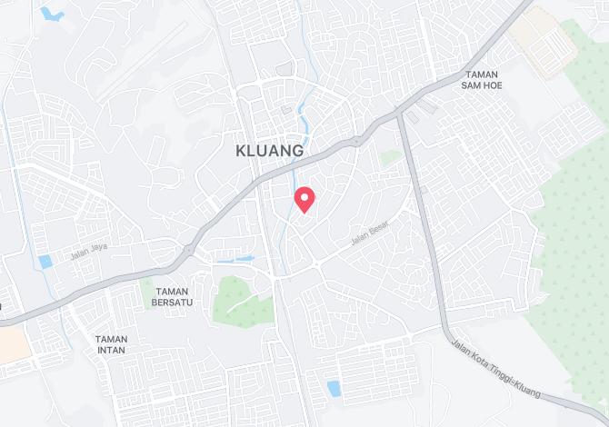 Denah Peta Alamat Jalan Putri Kluang Johor