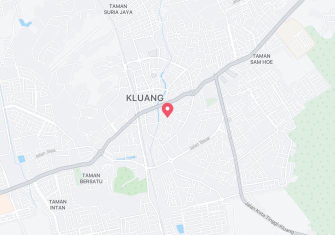 Denah Peta Alamat JalanAmpuan Kluang Johor