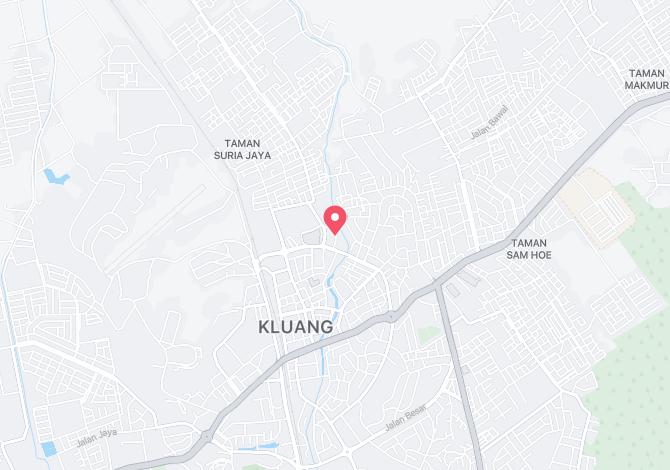 Denah Peta Alamat Jalan Tembikai Kluang Johor