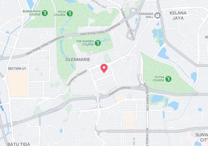 Denah Peta Alamat Jalan Polis U1/55 Shah Alam Selangor