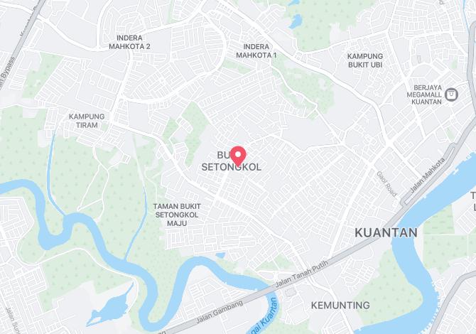 Denah Peta Alamat Taman Mas Kuantan Pahang