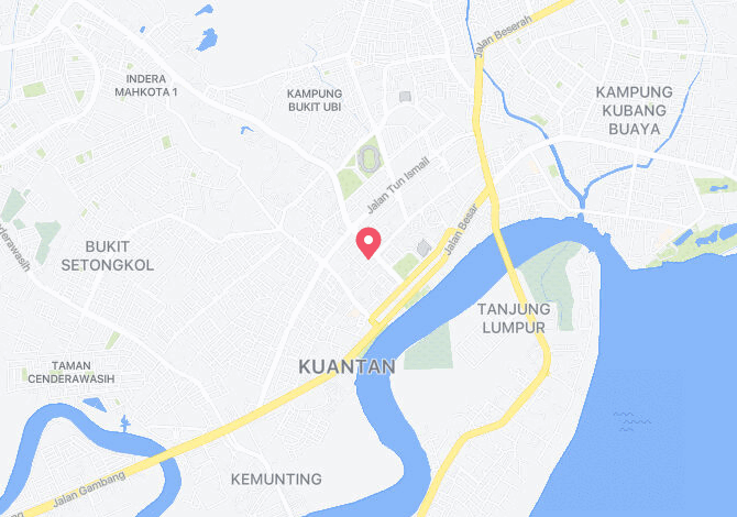 Denah Peta Alamat Lorong Rusa Kuantan Pahang