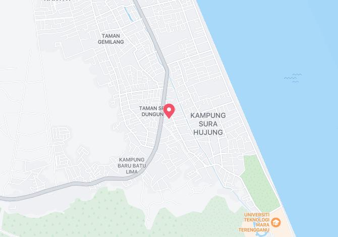 Denah Peta Alamat Taman Sura Dungun Terengganu