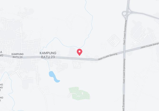 Denah Peta Alamat Kampung Batu 23 Kuala Berang Terengganu