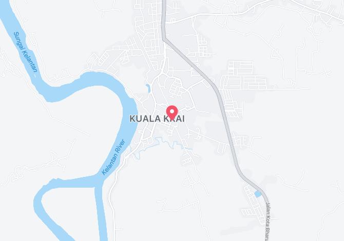 Denah Peta Alamat RPT Sungai Peria Kuala Krai Kelantan