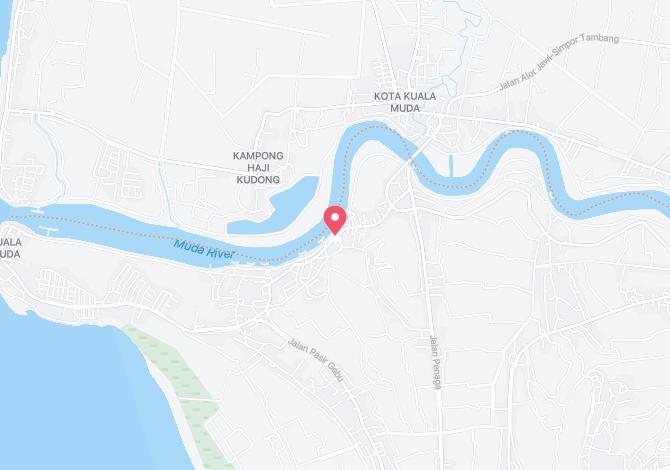 Denah Peta Alamat Telok Manan Penaga Pulau Pinang
