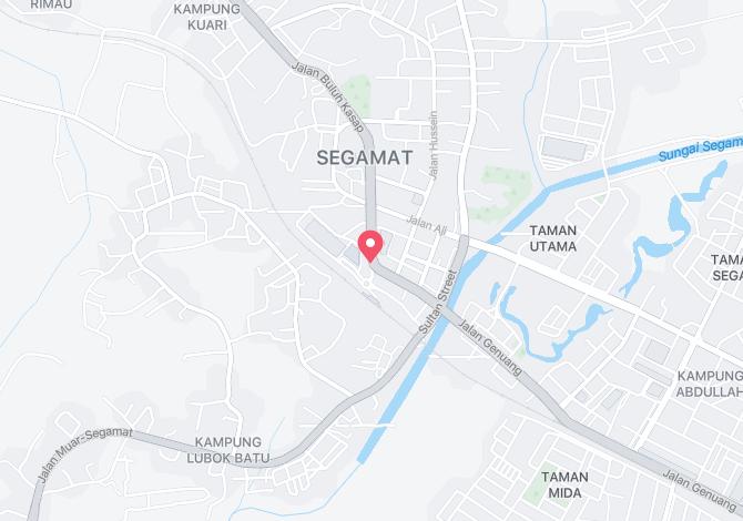 Segamat Bazaar Terminal Alamat Map Direction Coordinate
