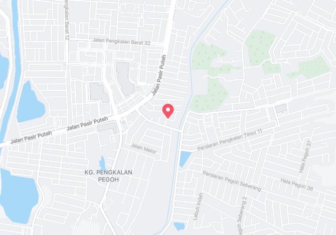 Pengkalan Pegoh Alamat Map Direction Coordinate