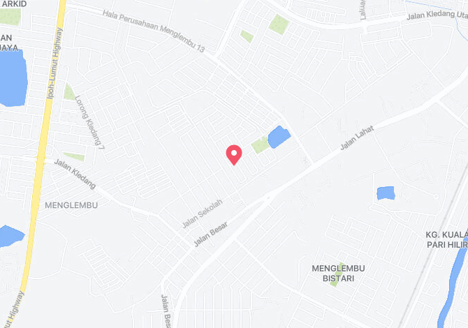 Bandar Baru Menglembu Alamat Map Direction Coordinate